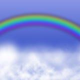 Rainbowin sky Stock Images