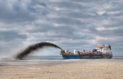 Rainbowing Zufuhrbehälter lizenzfreie stockfotografie
