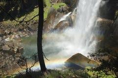 RainbownalDalingen van Ver Royalty-vrije Stock Afbeelding