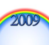 Rainbows 2009 Royalty Free Stock Photos