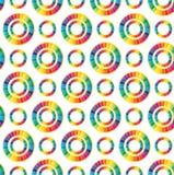Rainbows background Royalty Free Stock Photos