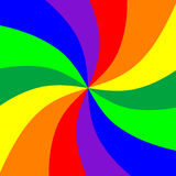 Rainbows burst background Royalty Free Stock Photography