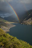 Rainbows, Llanberis pass. Stock Image