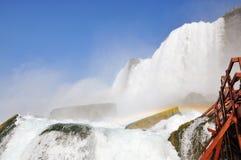 Rainbows at Niagara Falls Royalty Free Stock Photo