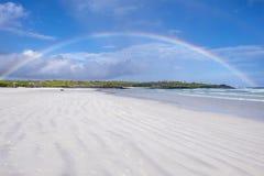 Rainbows Over Tortuga Bay 1 Stock Photography