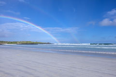 Rainbows Over Tortuga Bay  2 Stock Photo