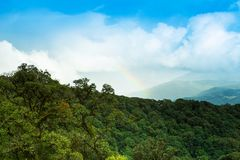 Rainbows at Viewpoint Royalty Free Stock Photography