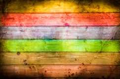 Rainbows wooden background for many applications Royalty Free Stock Images