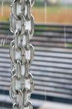 Rainchain während eines Sturms Stockfotos