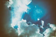 Raincloud i himlen Royaltyfria Foton