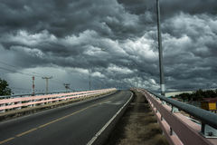 rainclouds Fotografia de Stock