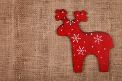 Raindeer decoration Royalty Free Stock Photography