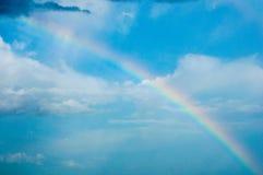 Raindow στον ουρανό Στοκ φωτογραφίες με δικαίωμα ελεύθερης χρήσης