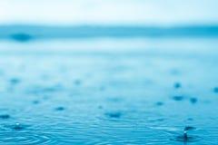 raindrop Foto de archivo libre de regalías