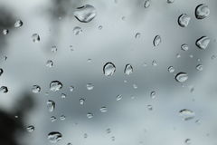 raindrop Royaltyfri Fotografi