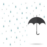 Raindrop background Stock Photography