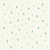 Raindrop background. Blue raindrop for background or wallpaper stock illustration