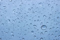 Raindrop glass Royalty Free Stock Image