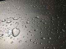 Raindrop na czapeczce Zdjęcie Royalty Free