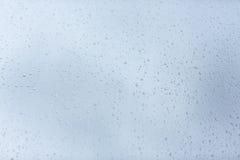 Raindrop patterns Stock Image
