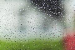 Raindrop patterns Royalty Free Stock Photography