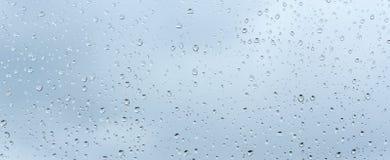 Raindrop patterns Stock Photos