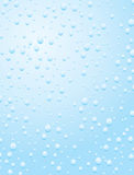 Raindrop on a window pane Stock Photo