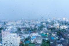 Raindrop on the windows Stock Image