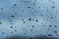 Raindrop wzory Fotografia Stock