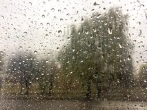 raindrops βροχή Στοκ Εικόνες