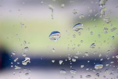 Raindrops Stock Photography