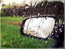 raindrops Fotografie Stock