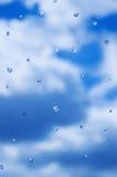 raindrops Arkivbilder