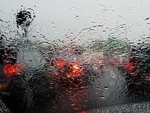 raindrops Foto de archivo
