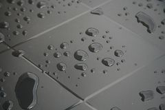 Raindrops. Stock Photo