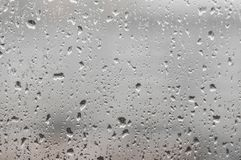 Raindrops on the glass stock photos