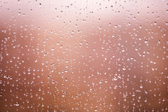 Raindrops on the glass Royalty Free Stock Photos