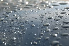 Raindrops Stock Image