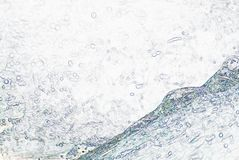 Raindrops Hitting Water. Illustration of raindrops hitting water for a background stock photo