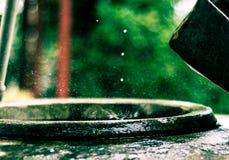 Raindrops. Its just rain Royalty Free Stock Photography