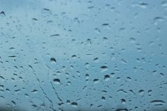 Raindrops Royalty Free Stock Image