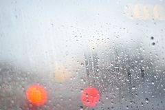 Rain and Droplets Royalty Free Stock Photography