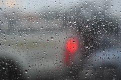 Rain and Droplets Stock Photo