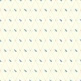 Raindrops na lekkiego tła bezszwowym wzorze Obraz Stock