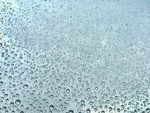 Raindrops na okno Fotografia Stock