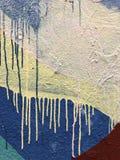 Raindrops na ostrzach trawa zdjęcia royalty free