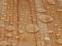 Raindrops on the object. Rostov-on-Don, Russia, autumn 2013 stock images