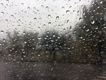 raindrops pleuvoir photo stock