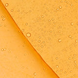 Raindrops on a tent. Stock Image