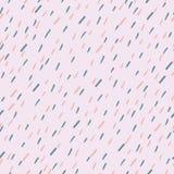 Raindrops Vector Seamless Pattern. Handdrawn. Raindrops Vector Seamless Pattern. Handdrawn Rainy Pattern Background. Naive Melancholic Raindrops Surface Pattern stock illustration